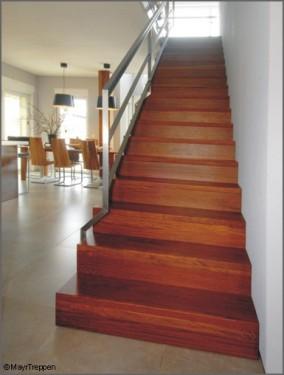 stufen auf beton mayr treppen. Black Bedroom Furniture Sets. Home Design Ideas