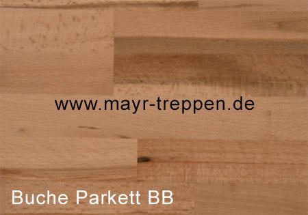 Buche, Parkett, Qualität B/B mit Braunkern