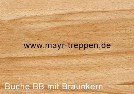 Buche, Qualität B/B mit Braunkern