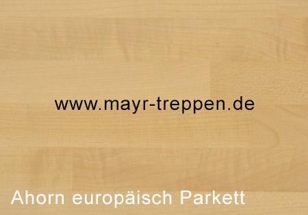 Ahorn, europäisch, Parkett